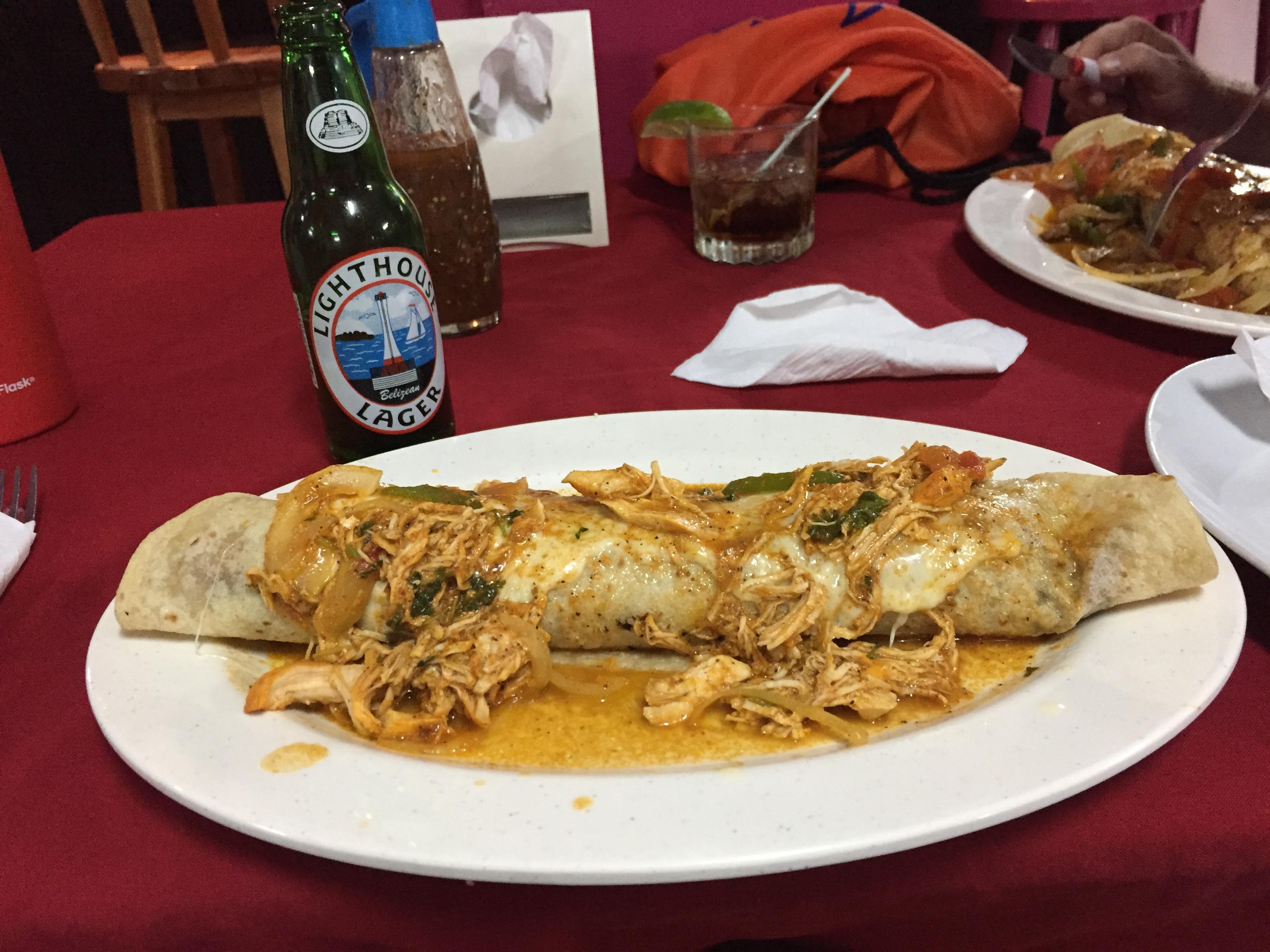 $7 Chicken Burrito
