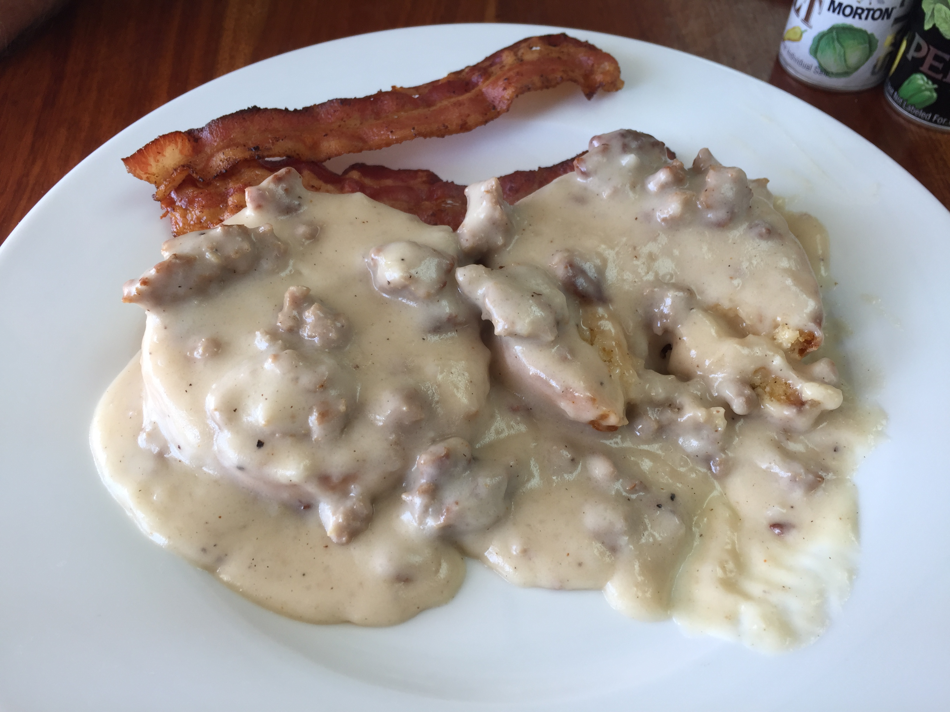 $7 Biscuits and Gravy with sausage