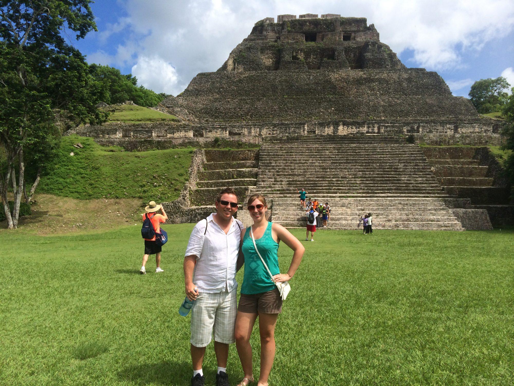 Xunantunich Mayan Pyramid