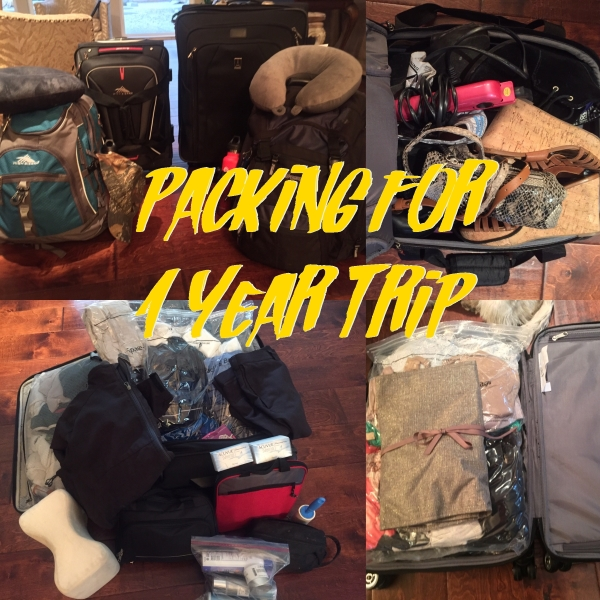Packing for 1 Year