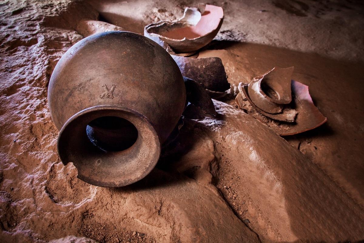 Mayan Blood letting pot