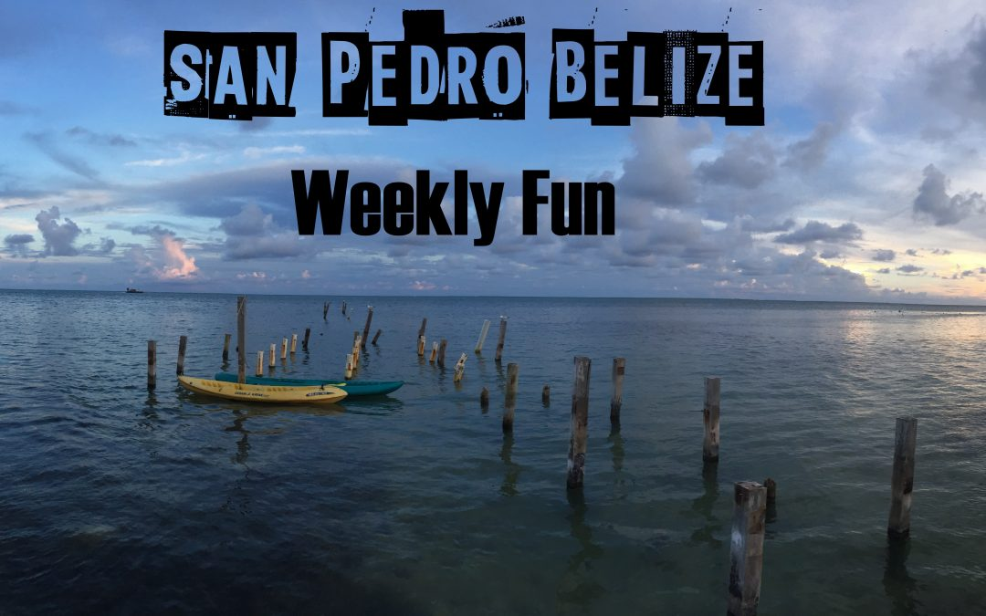 Fun in the Sun, San Pedro Belize