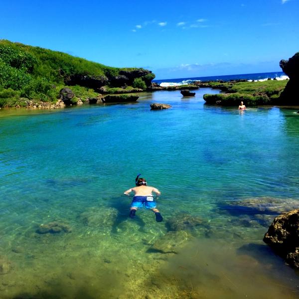 Guam Itinerary- Inarajan Natural Pools