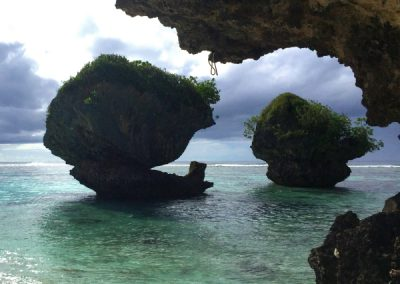 Guam Snorkeling- Mushroom Rocks