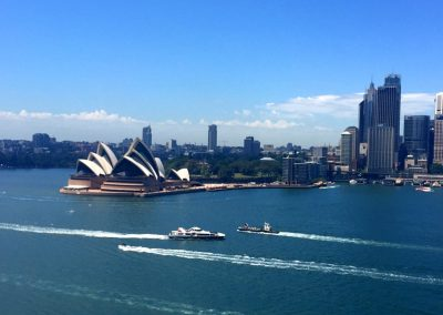 Sydney opera house and City_fotor