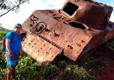 WWII Tank Guam