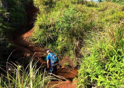 For Treking Sigua Falls River crossing