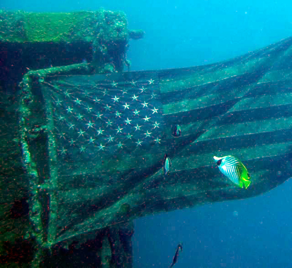 Guam best dives American tanker