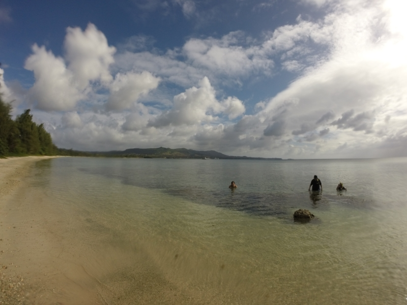 Old Wives beach Guam Entrance