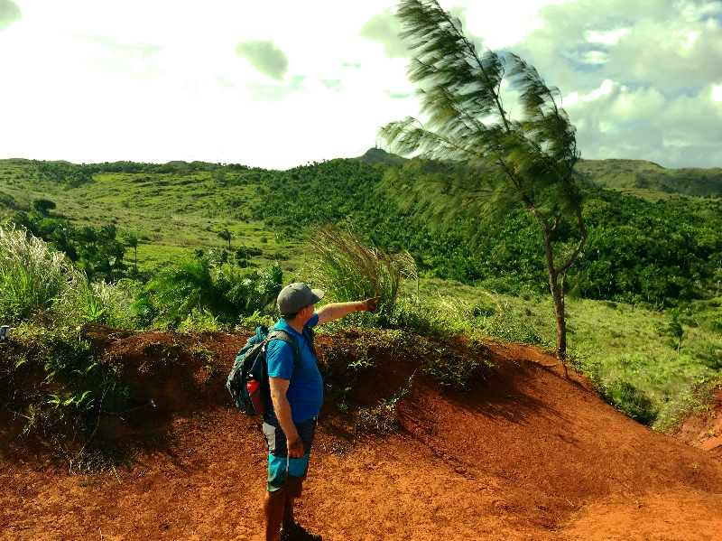 Hiking Guam One Stunning View at a time