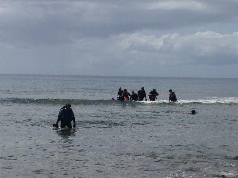 Umatac beach dive