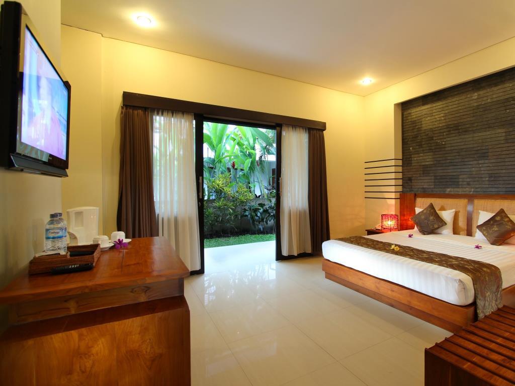 Ubud hotel room