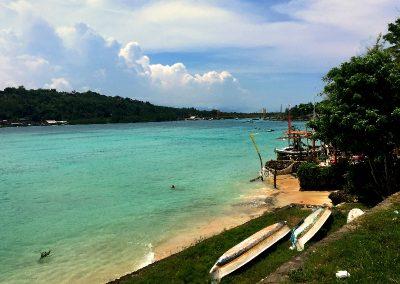 View From Nusa Cennigan