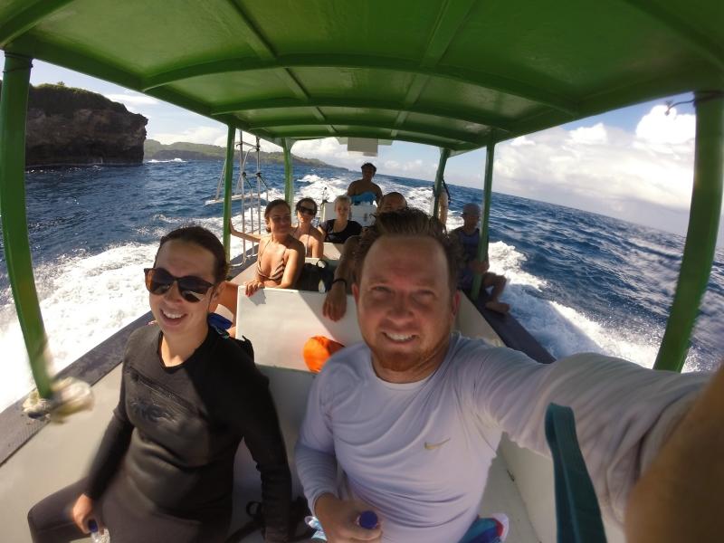 Boat Tour to Manta Ray Bay