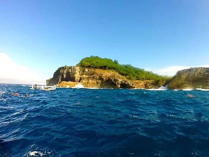 Manta ray Bay Bali