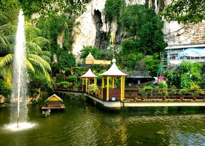 Batu Cave lake entrance