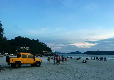 Langkawi beach ppl