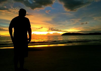 Watching Langkawi Sunset
